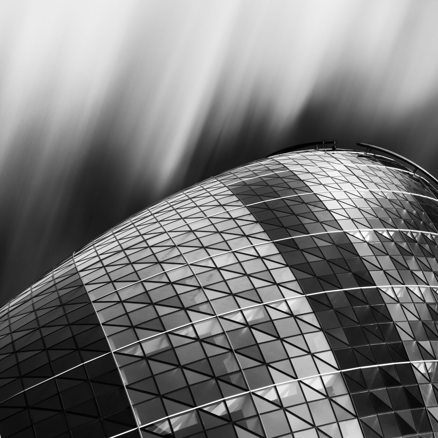 30 St Mary Axe, better known as the Gherkin, in Central London.