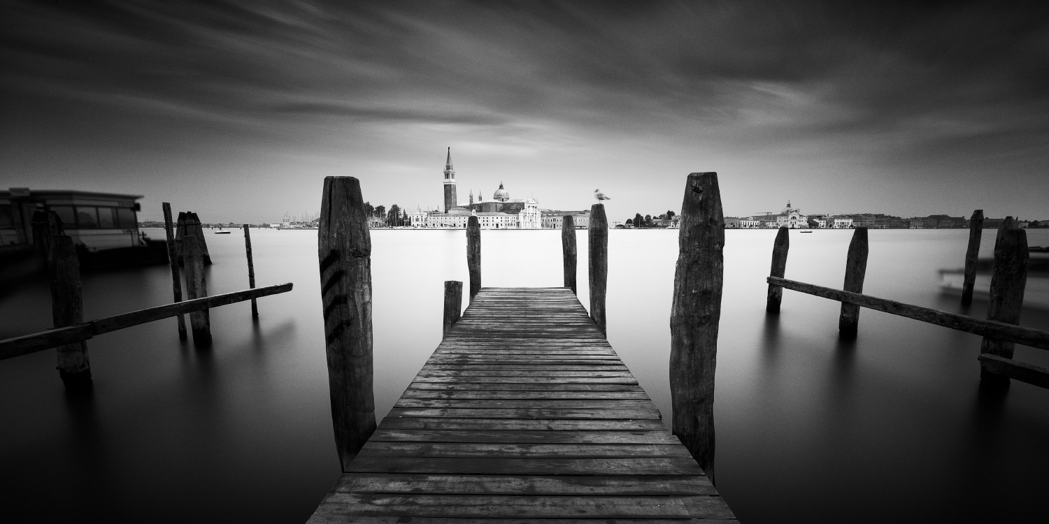Looking out to San Giorgio Maggiore from Venice, Italy.