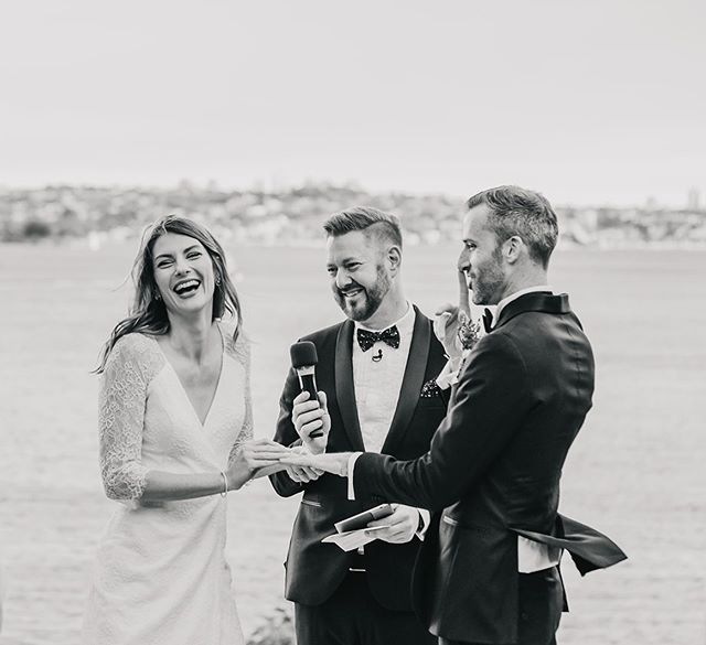 From the wedding of Steph and Brett. Had such a blast with these two lovely humans on their wedding day. The most contagious smiles going round!