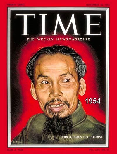 Ho Chi Minh, leader of the ICP and Viet Minh   (click to enlarge)