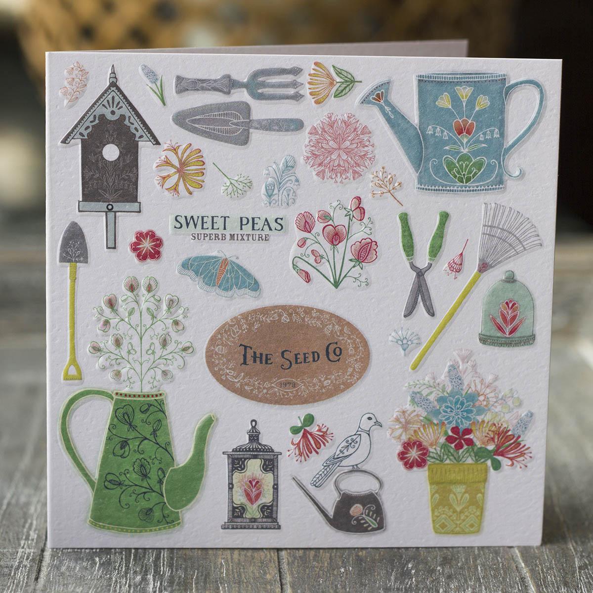 Vintage Garden card