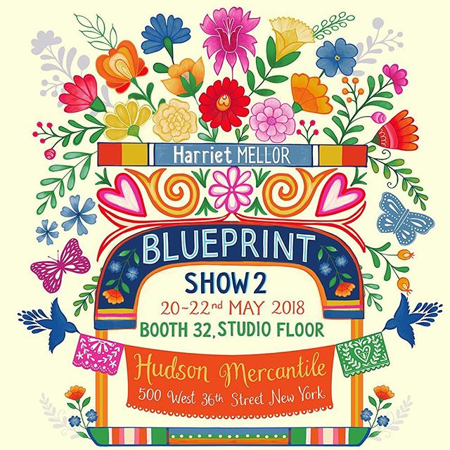 Next month I will be exhibiting at Blueprint show 2 in New York City, lots of preparations going on here ! There is a link in my profile, please contact me if you would like to set up an appointment ! #blueprintshow #blueprintshow2 #artlicensing #illustration #dscolor #creatingart #makearteveryday #printandpattern #surfacepatterndesign #harrietmellor