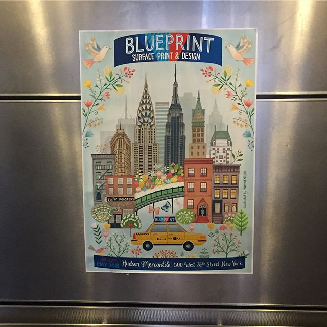 @blueprintshows show 2 open for business! #blueprintshows #artlicensing #surfacepattern #surfacedesign #harrietmellor