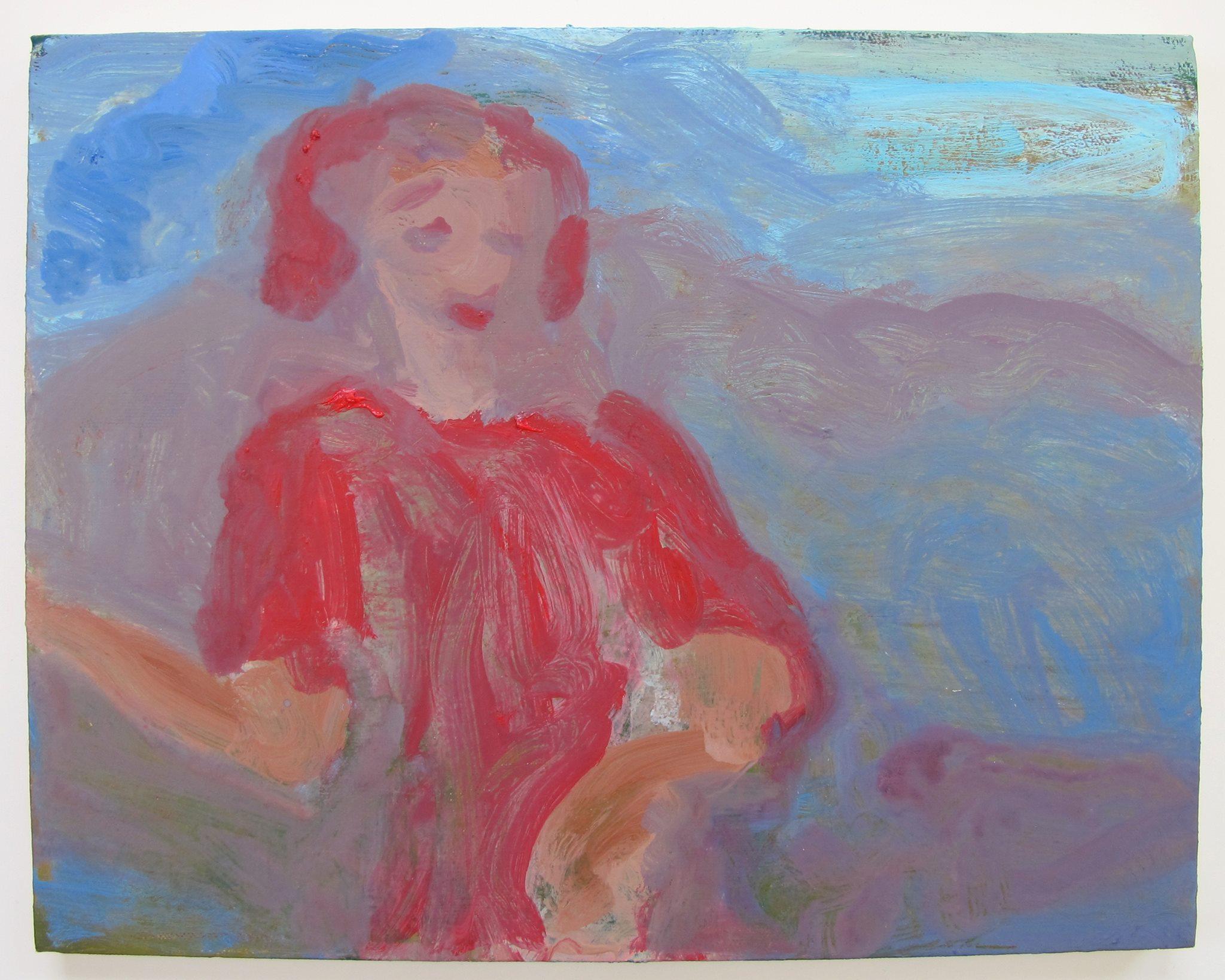 "November, oil on canvas, 11"" x 14"""