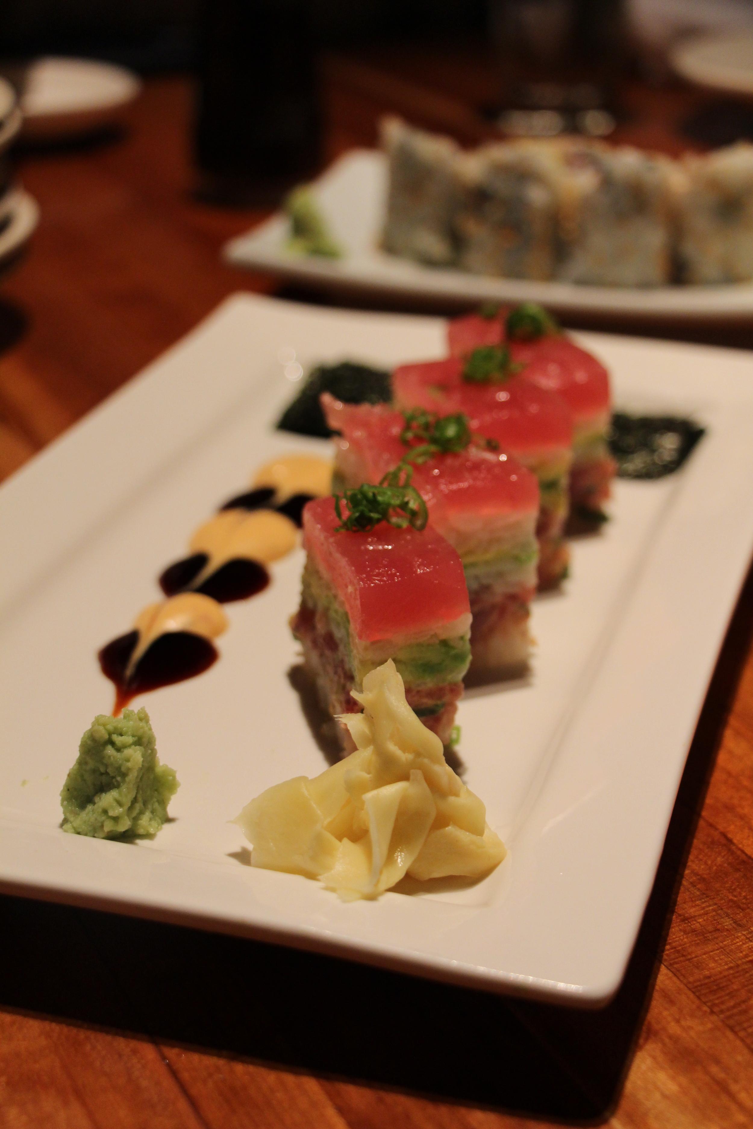 "Spicy Tuna ""Osaka Style"""