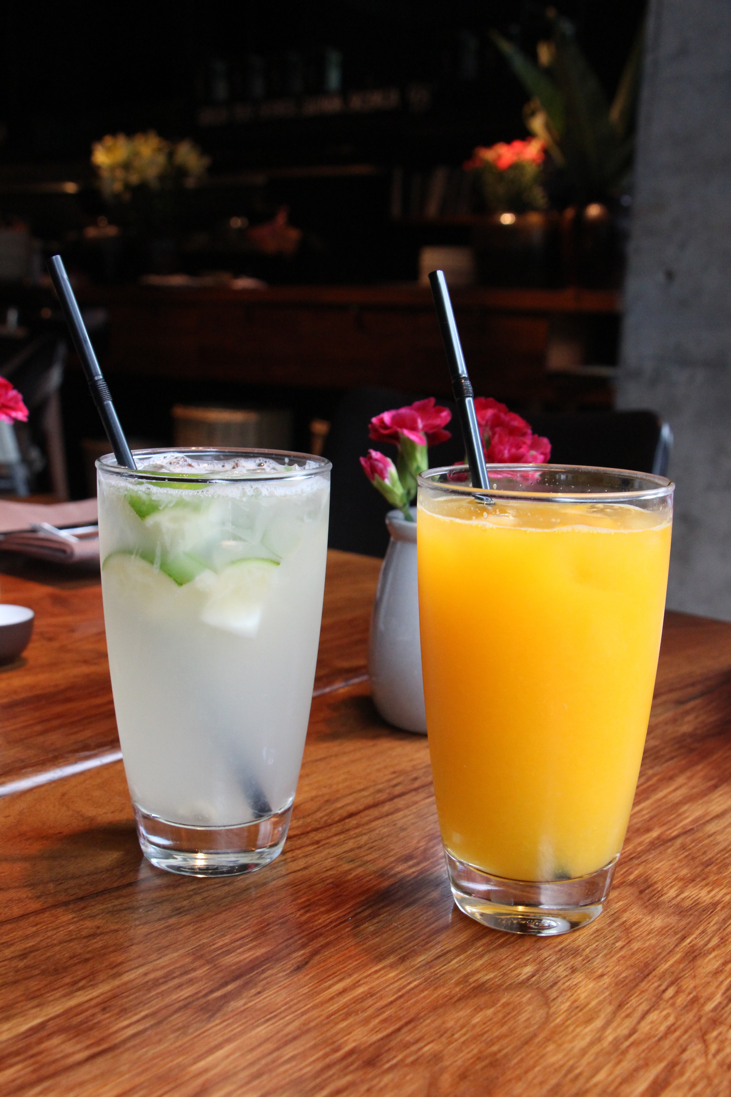 Lime Lemonade and Orange Juice