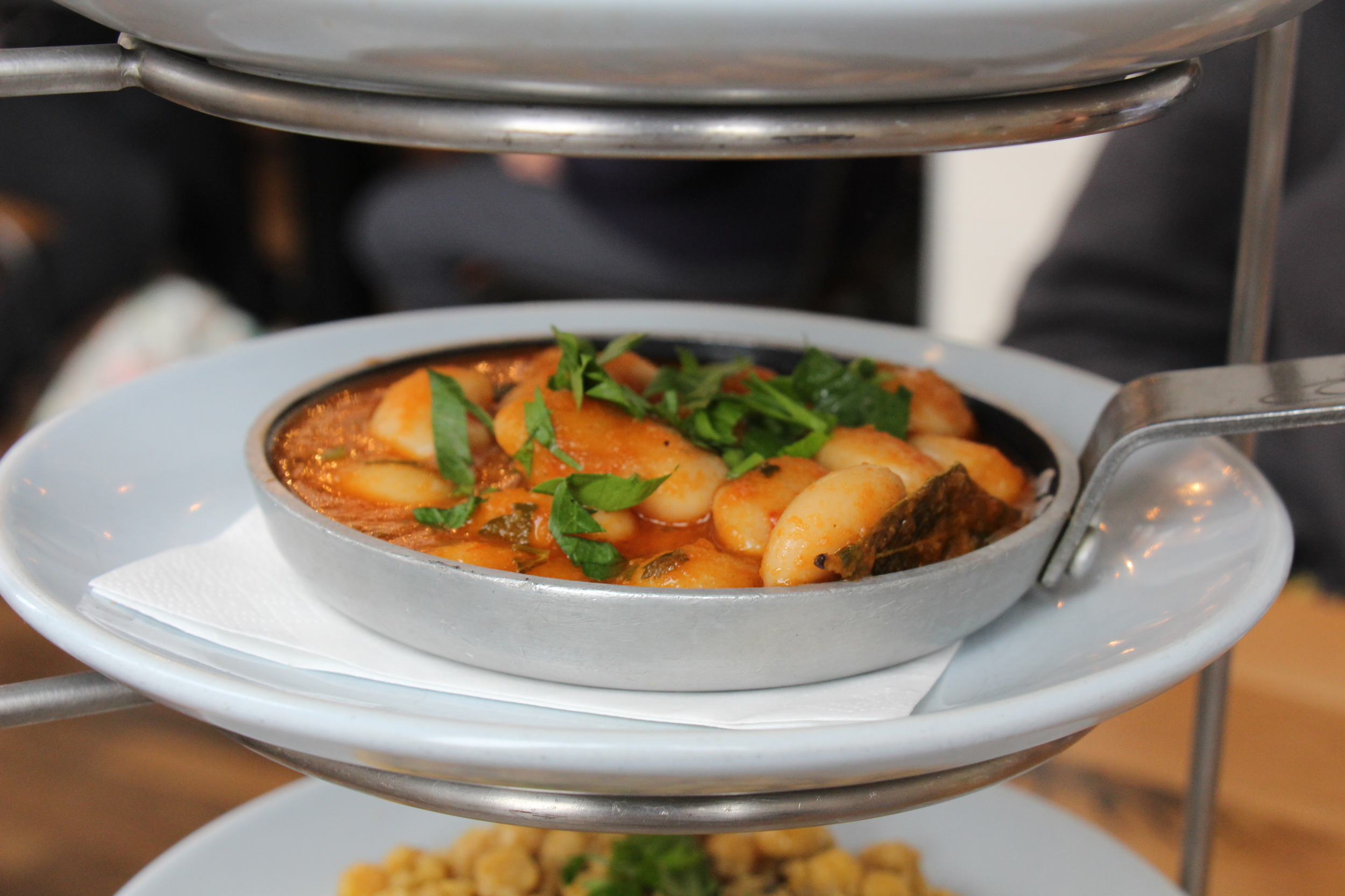 Gigandes Plaki - slow cooked giant beans in tomato sauce