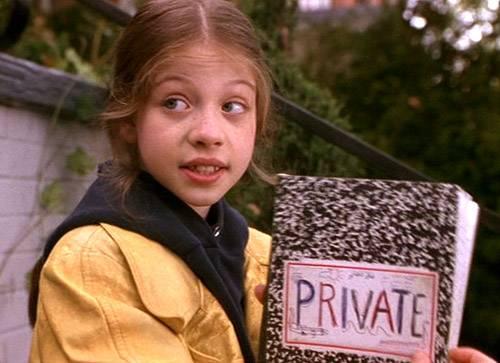Michelle Trachtenberg in Nickelodeon's  Harriet The Spy