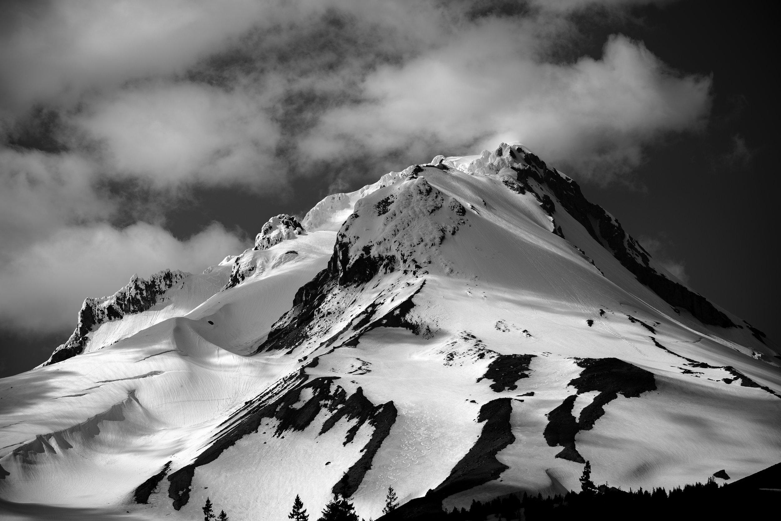 Mt Hood BW.jpg