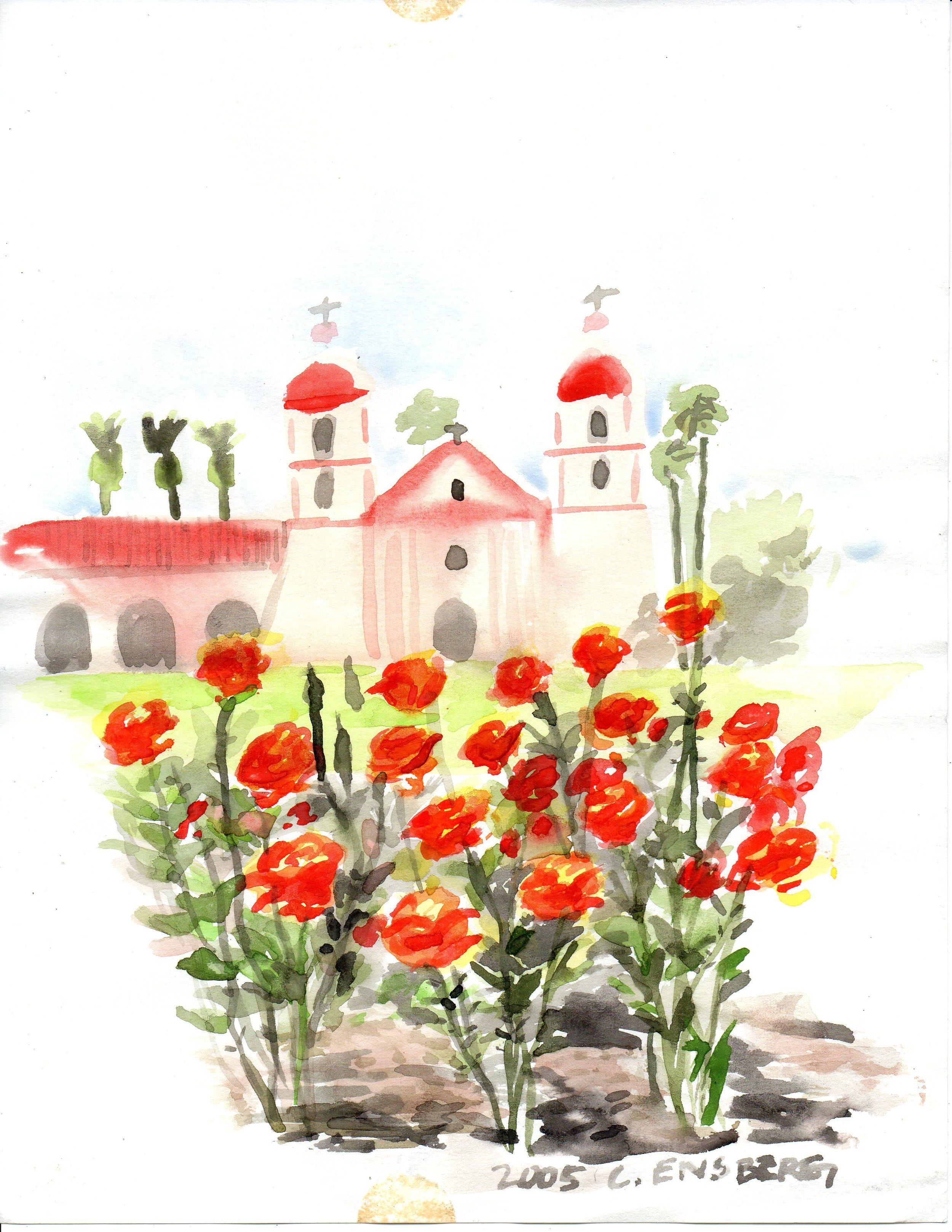 SB Rose Garden & Mission