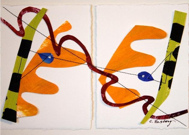 Castor & Pollux ( 5.5 x 8 )