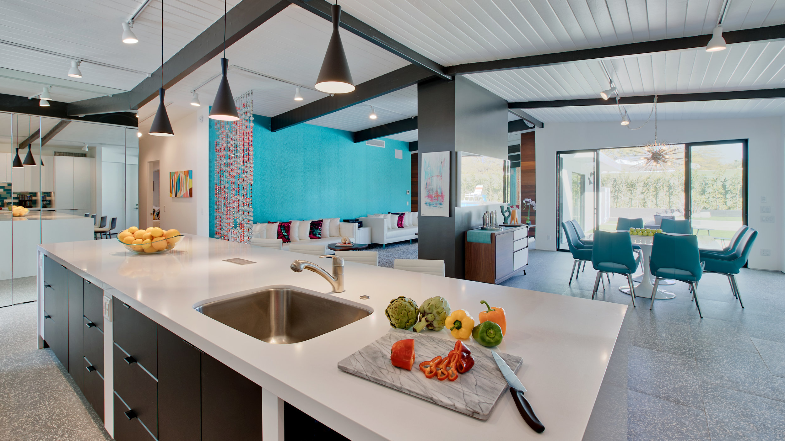Huge open concept Living/Kitchen/Dining allows everyone to be part of the action
