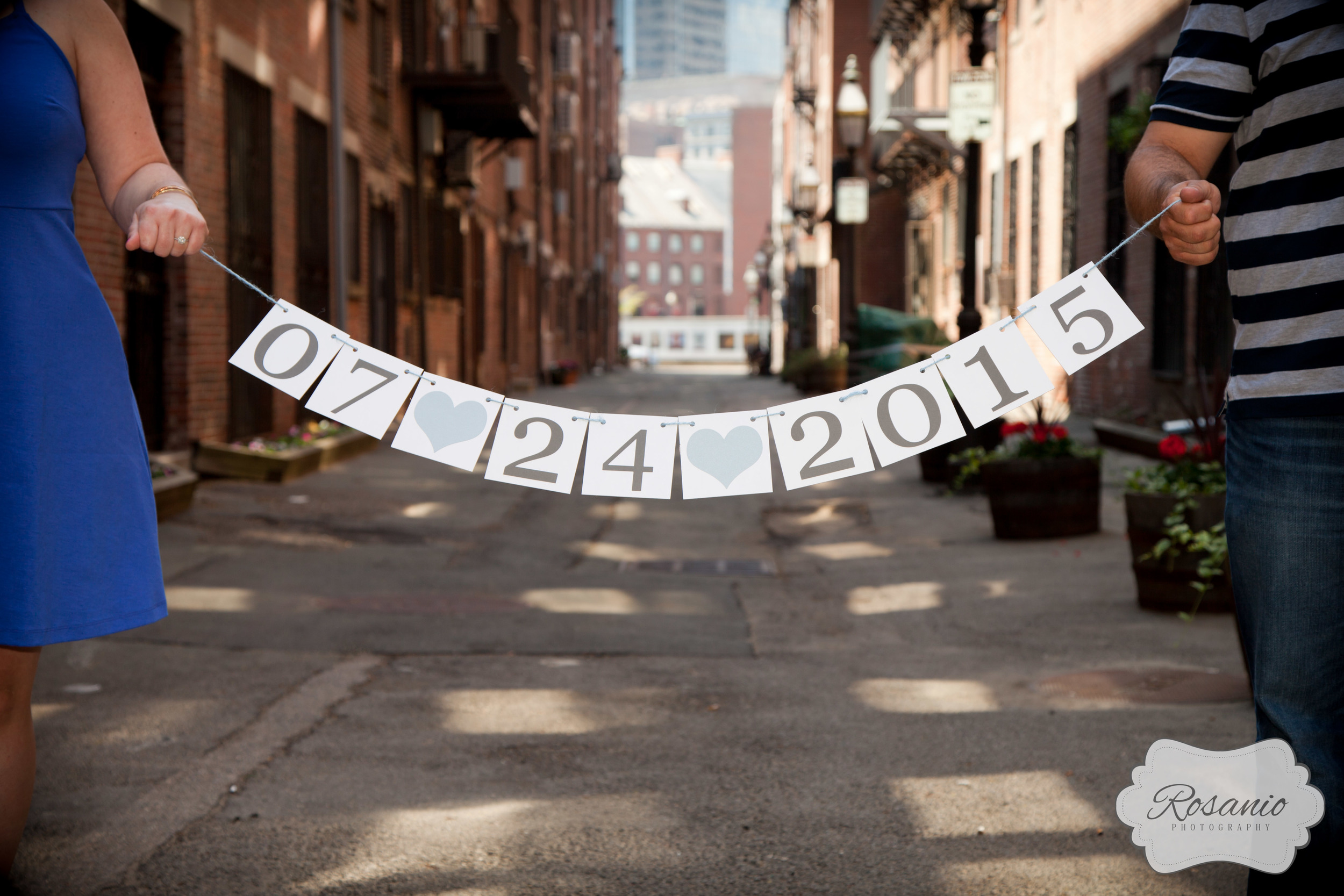 Rosanio Photography | Boston's North End Engagement Photos | Massachusetts Engagement Photos