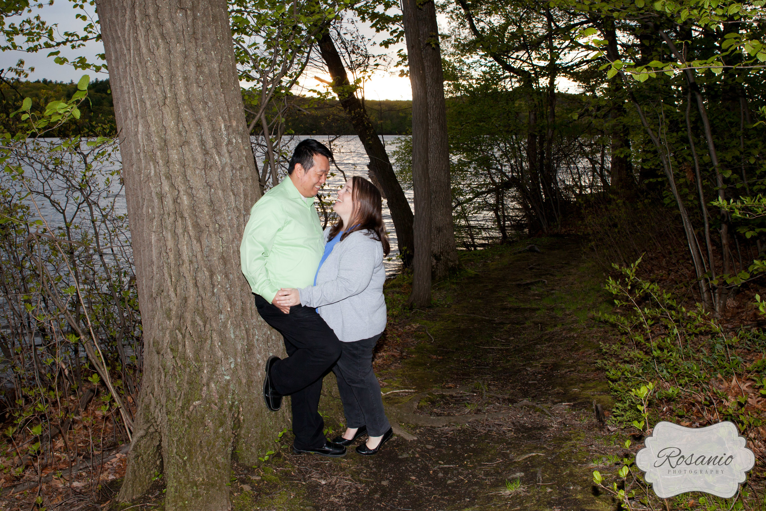 Rosanio Photography | Rolling Ridge Retreat and Conference Center Engagement Photography | Massachusetts Engagement Photographer