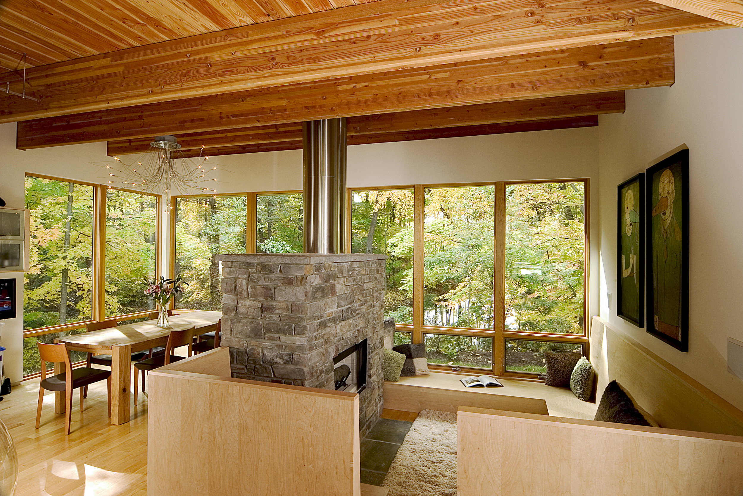 Sitting and Dining Spaces