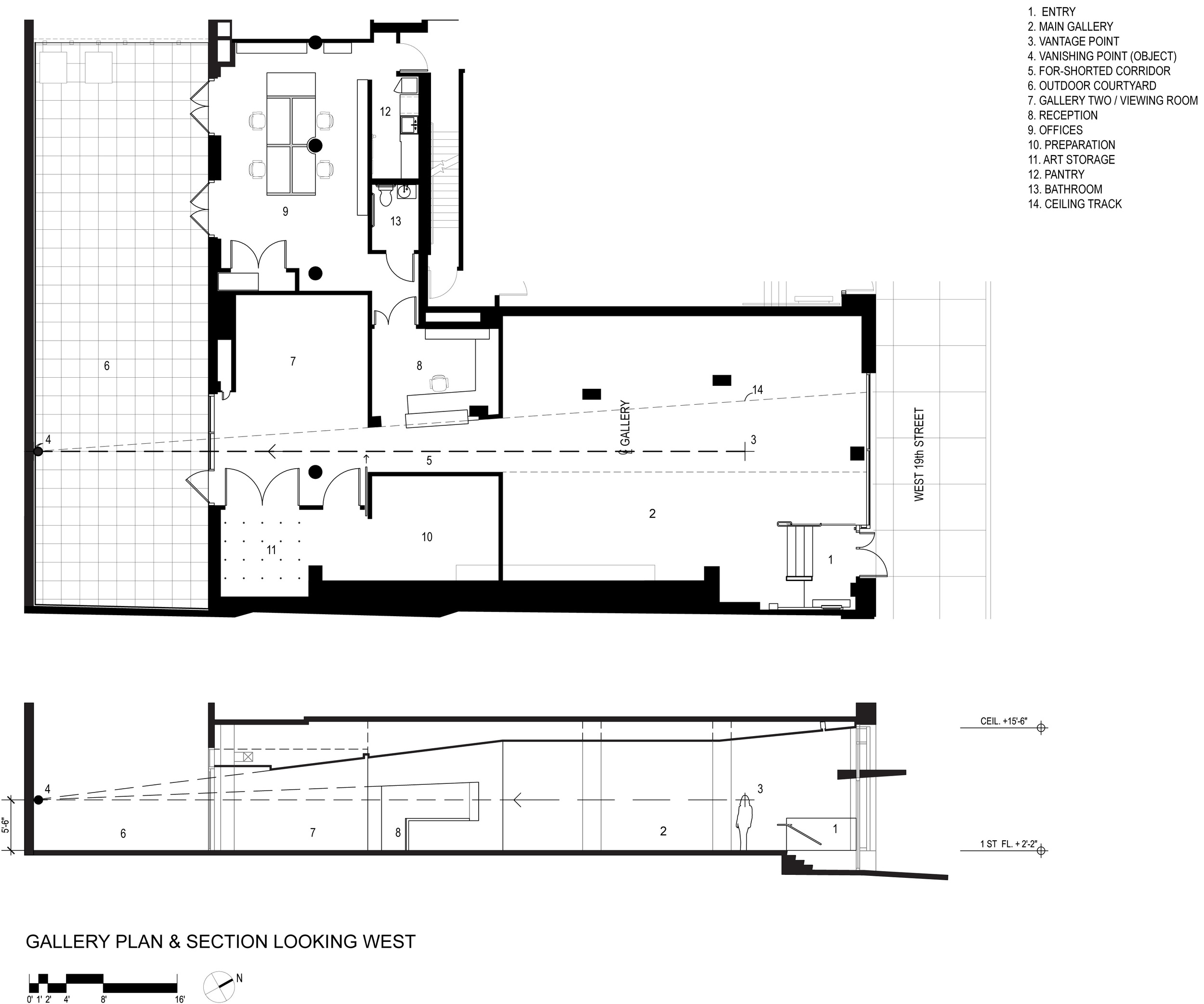Plan and Section Concept