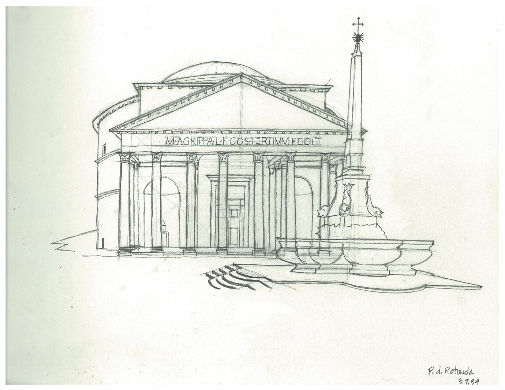 1984 - 4A Pantheon rotunda 8x11.jpg
