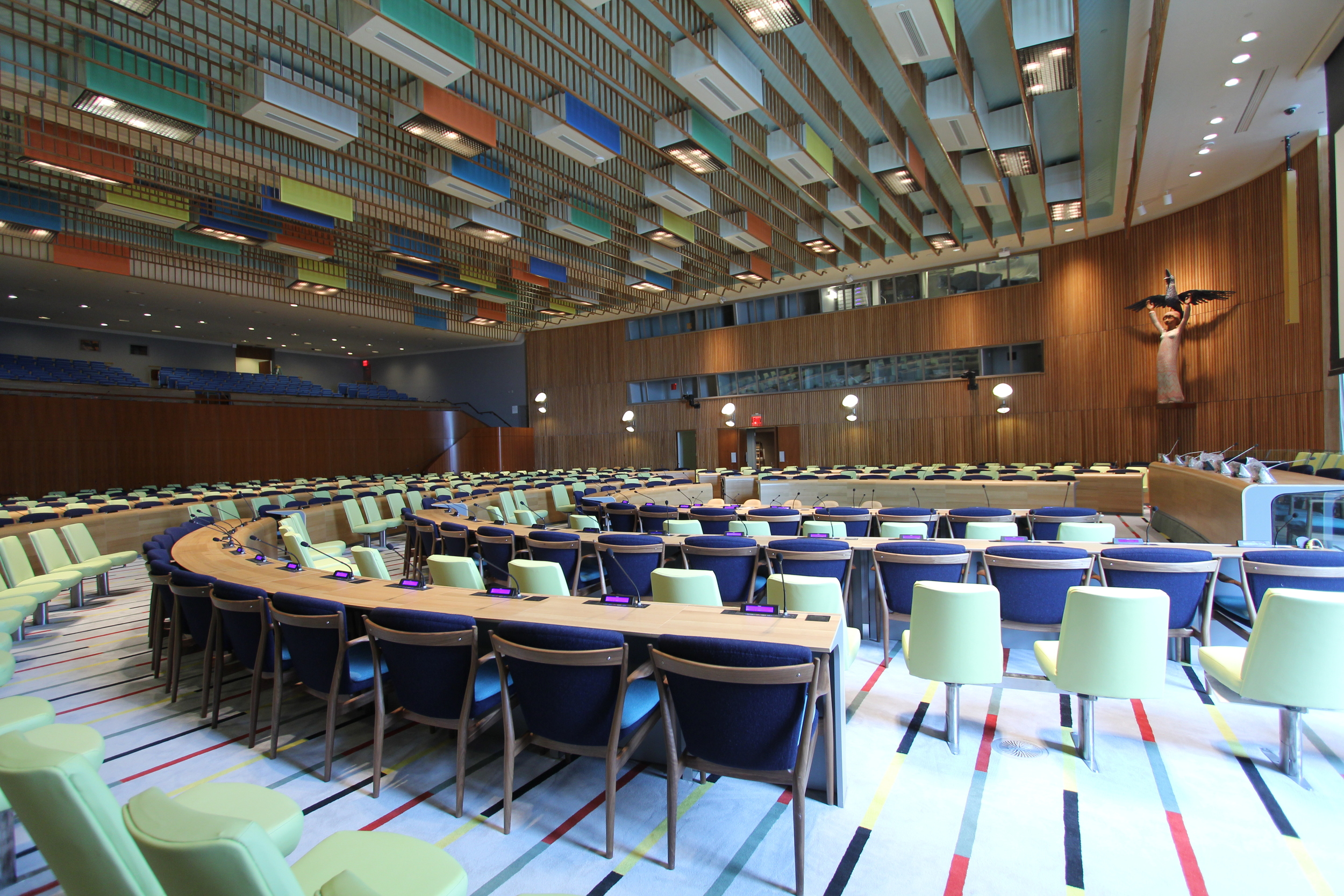 United Nations Trusteeship Council Chamber