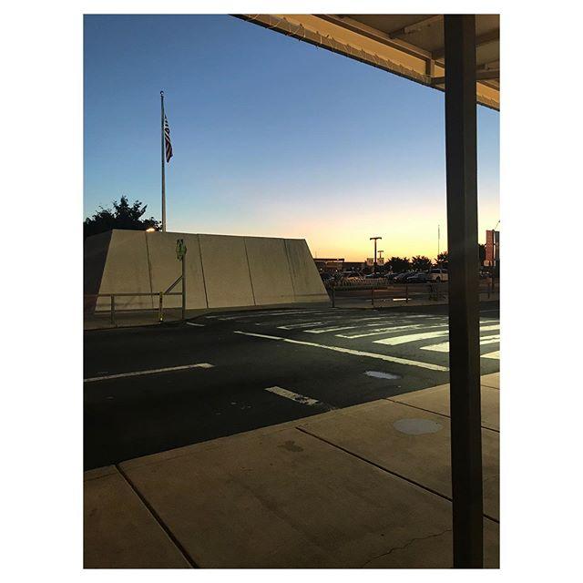 05.31.19   Dulles parking lot sunrise.