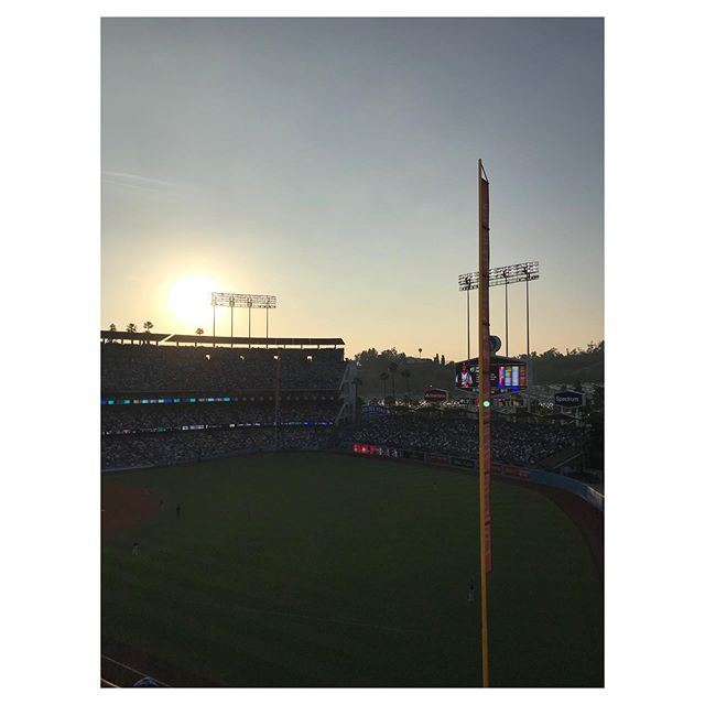06.15.19   Tough to beat a sunset in Chavez Ravine.