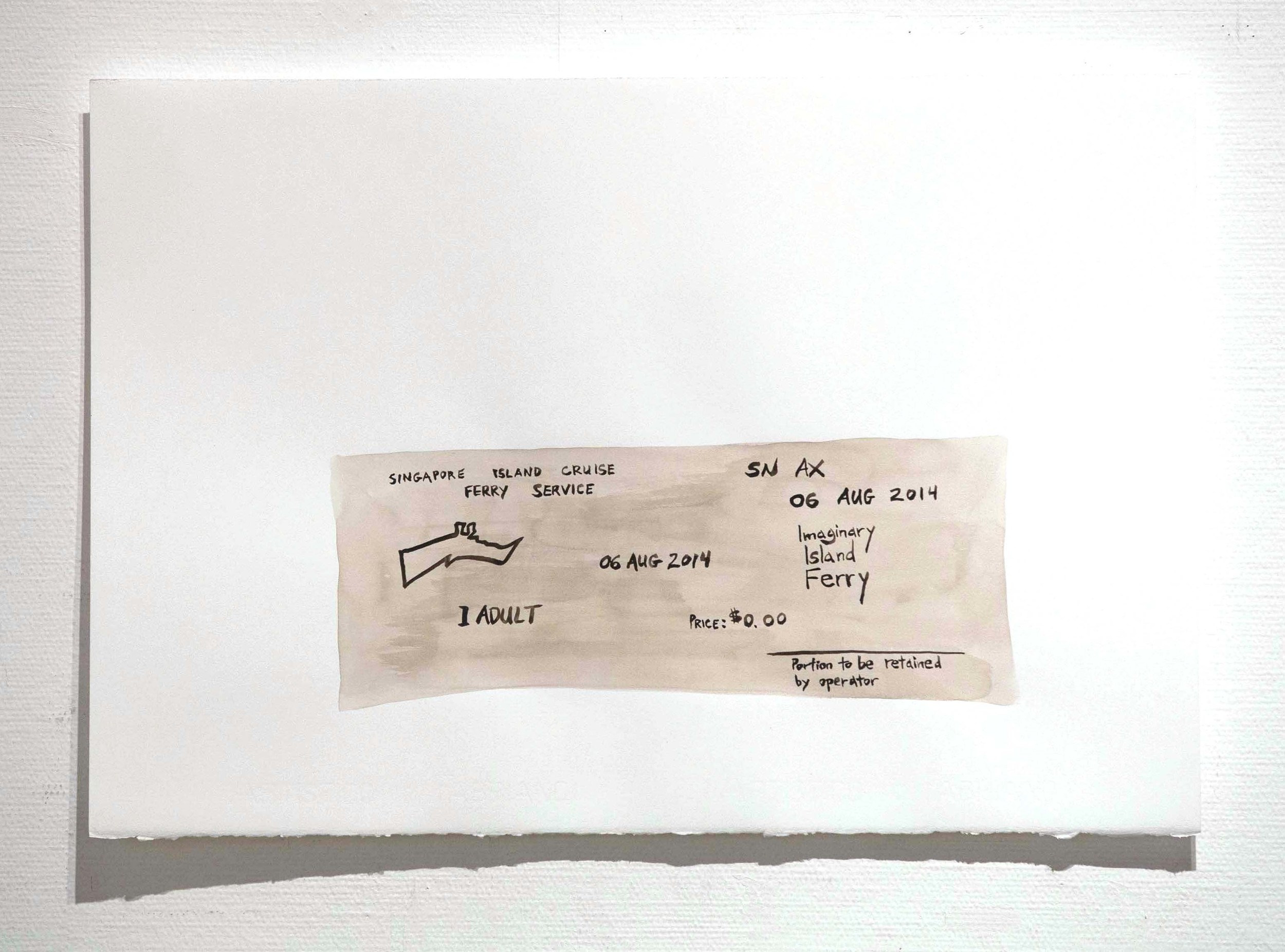 <i>Ferry Ticket for Khayalan</i>