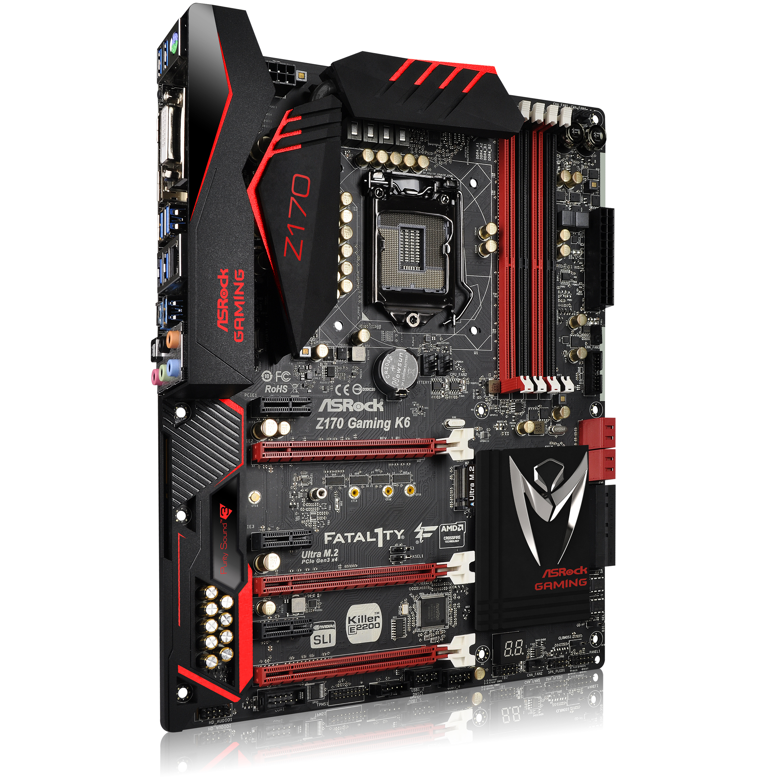 Here's you're typical Z170 motherboard,this shit is badass.