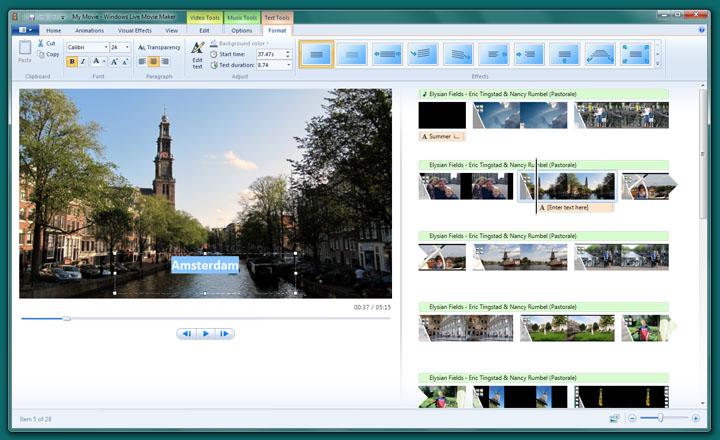 The Free Option Windows Movie Maker