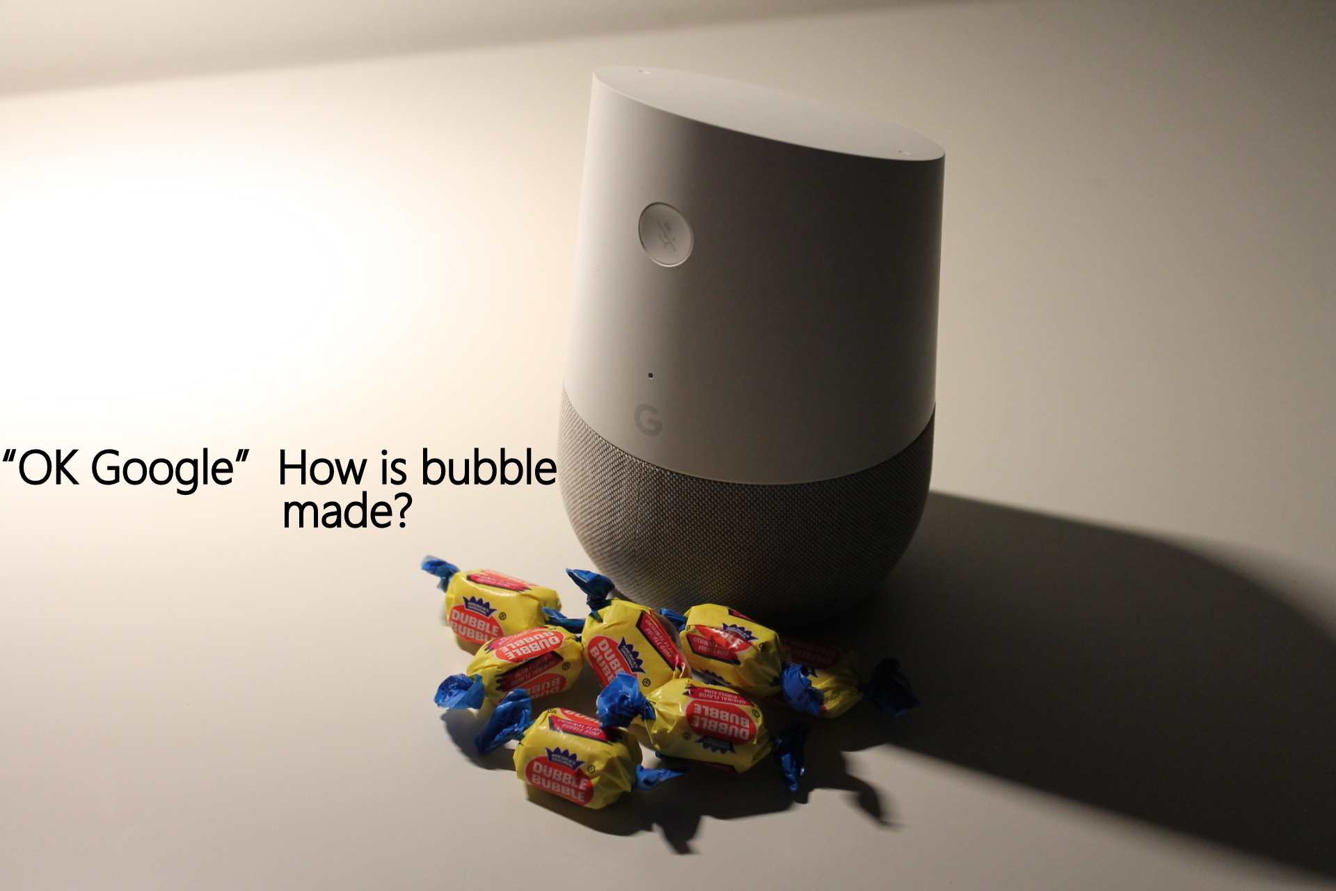 I think I meant to say BUBBLE GUM!!! OOOoops!