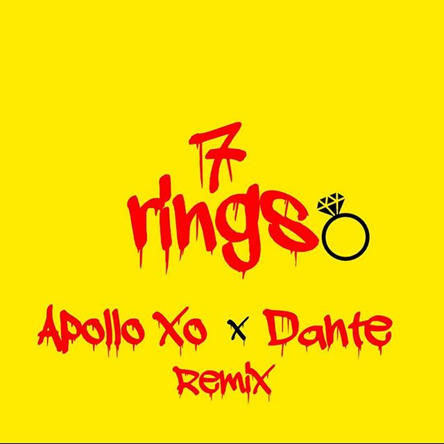 hi, i just dropped a 7 Rings Remix on my Soundcloud. Hit that link in my bio 😝🥳