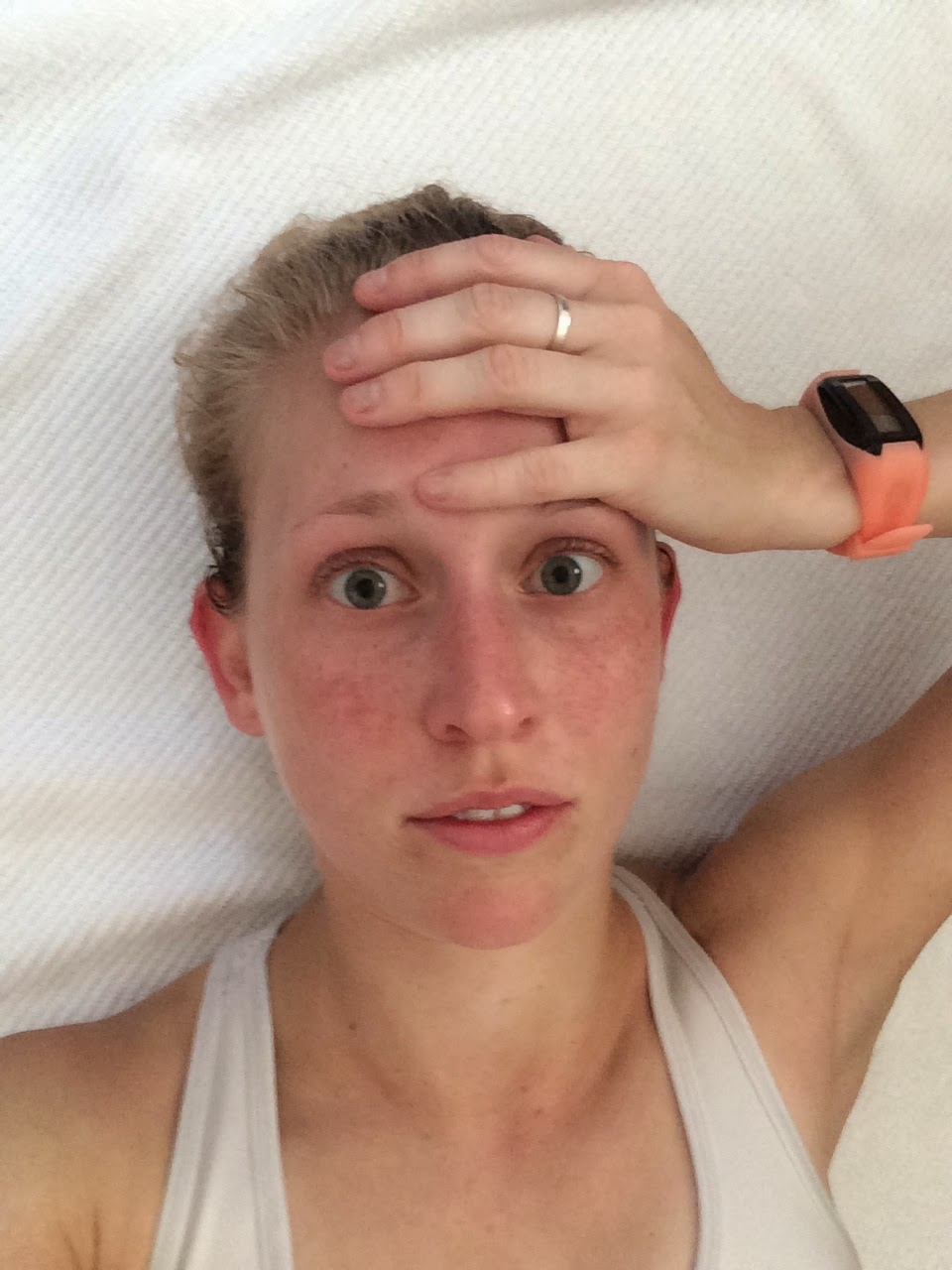 Struggle city post- hot and humid run