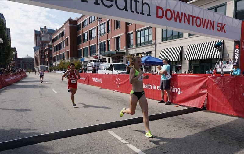 Across the finish line