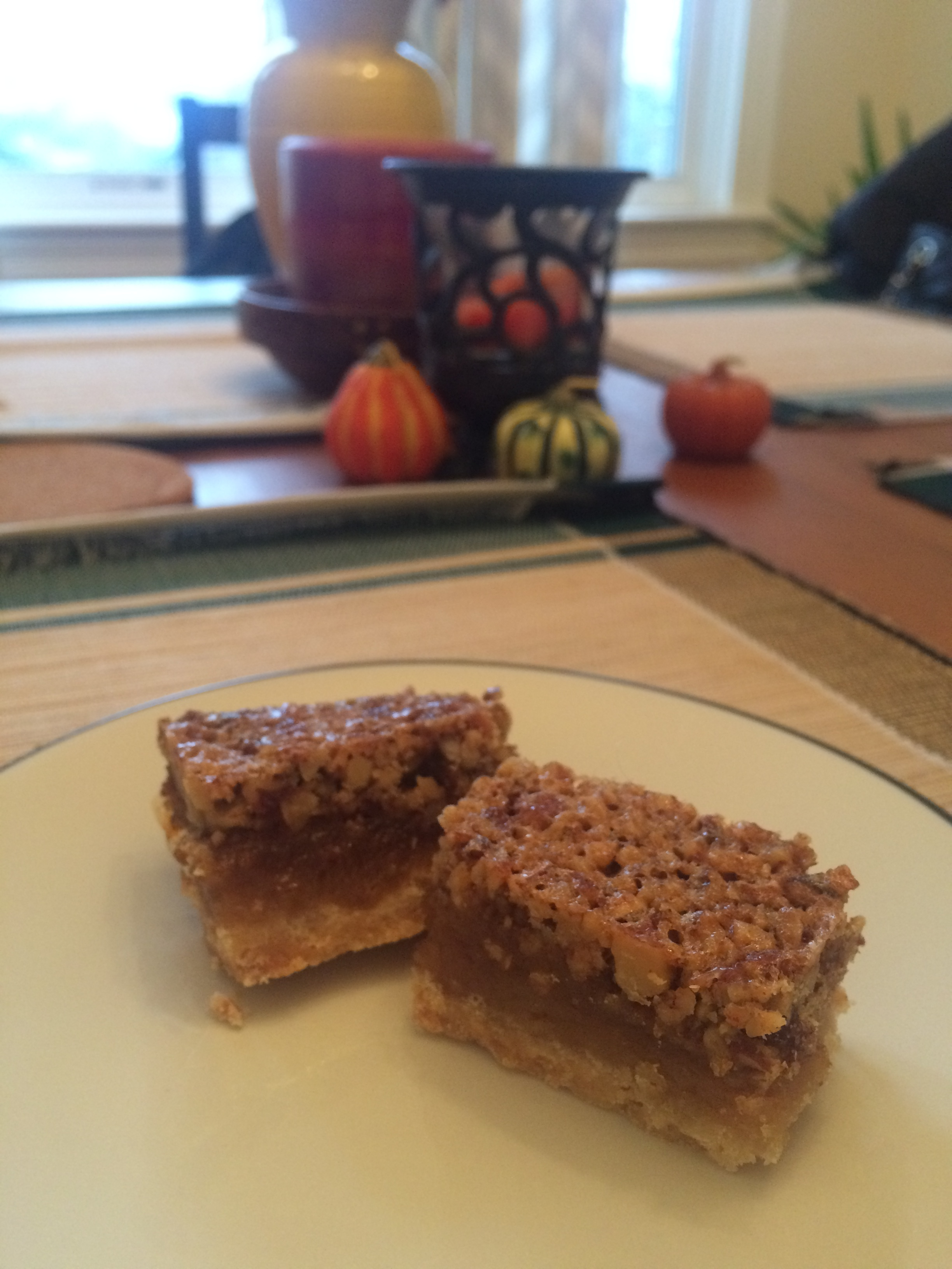 The finished product: Pecan Pie Bars!