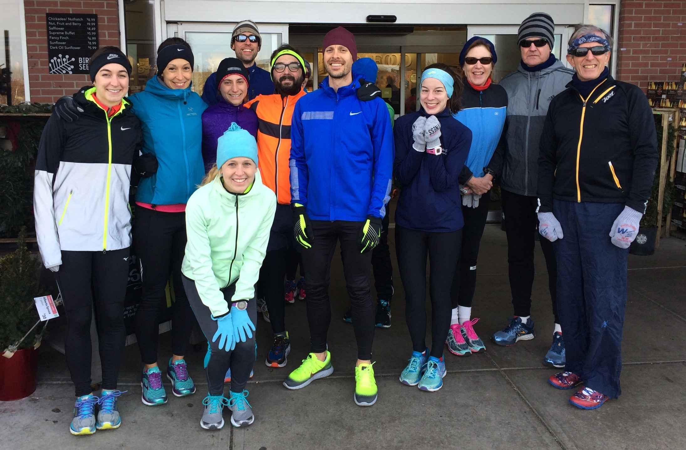 December Run Club at Whole Foods, with many of my Training Joyfully clients that I have the pleasure of coaching!