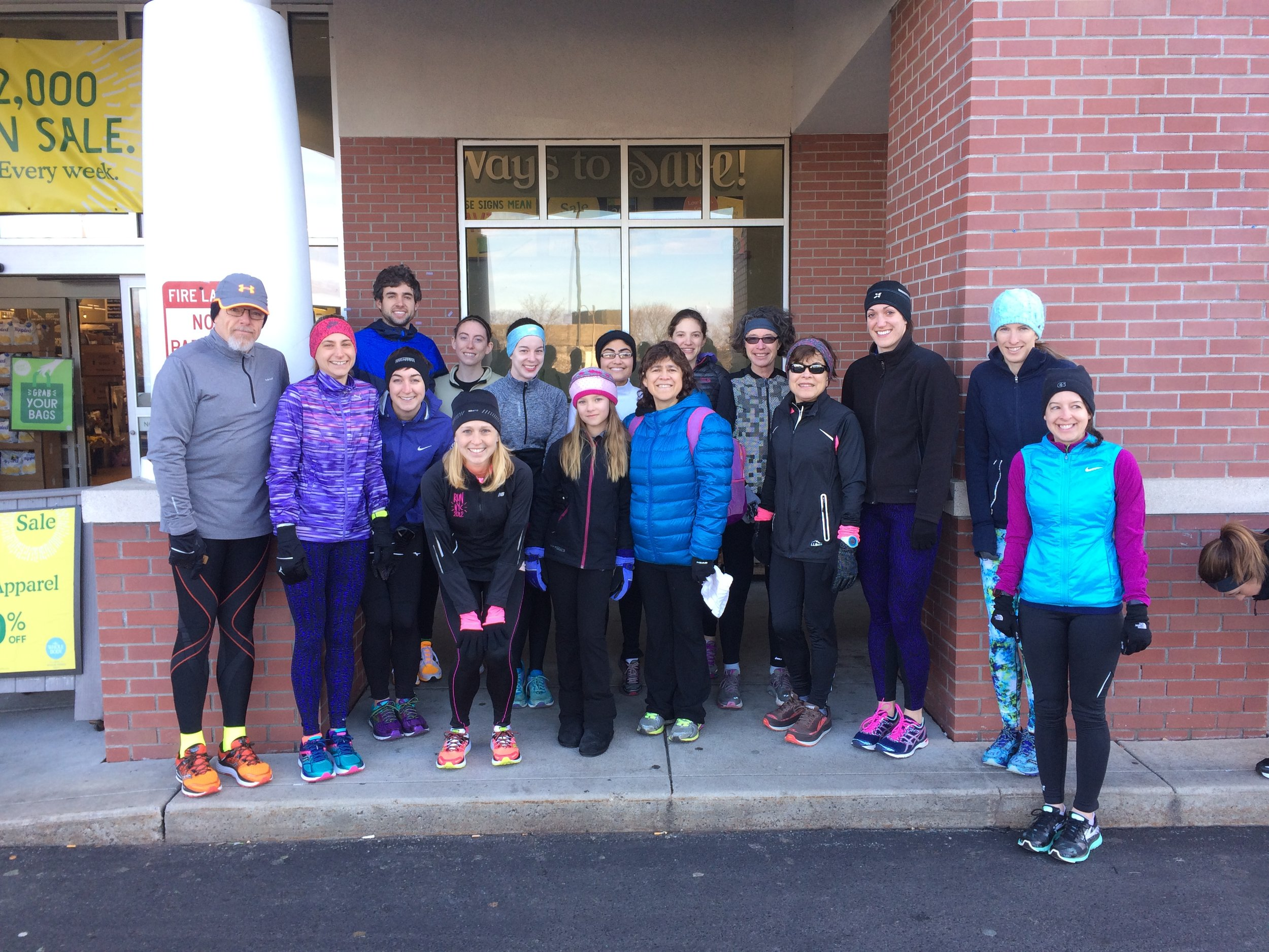 Birthday miles with Whole Foods Run Club in Providence
