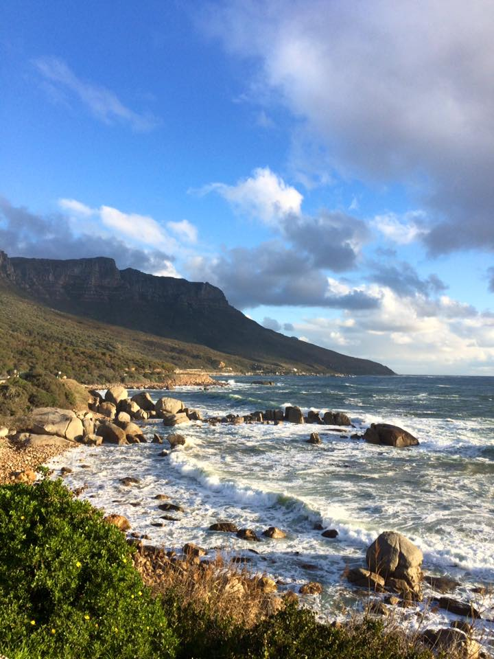 On a walk in Cape Town, scouting out running routes for when I'm back to training again!