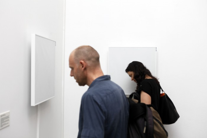 Installation view of  omniscience and oblivion (Barcelona)  installed at Arts Santa Monica, Barcelona   in 2014