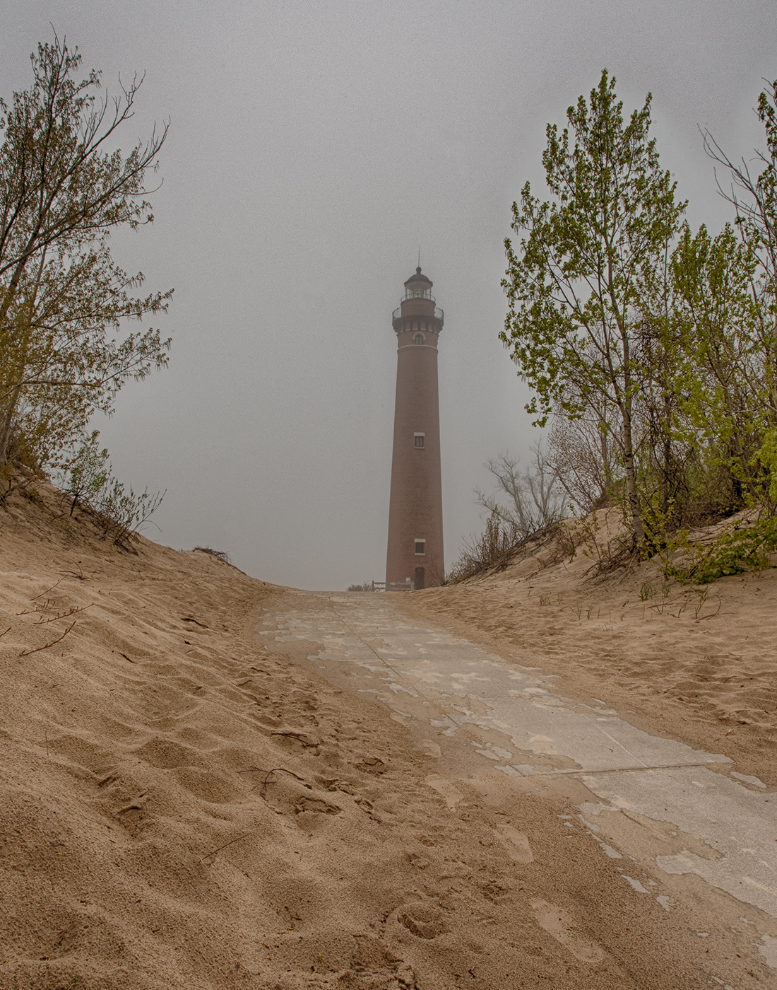 Path To Little Sable Lighthouse