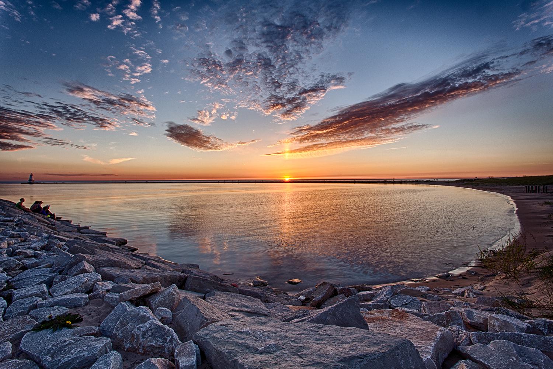 Ludington, Michigan Sunset