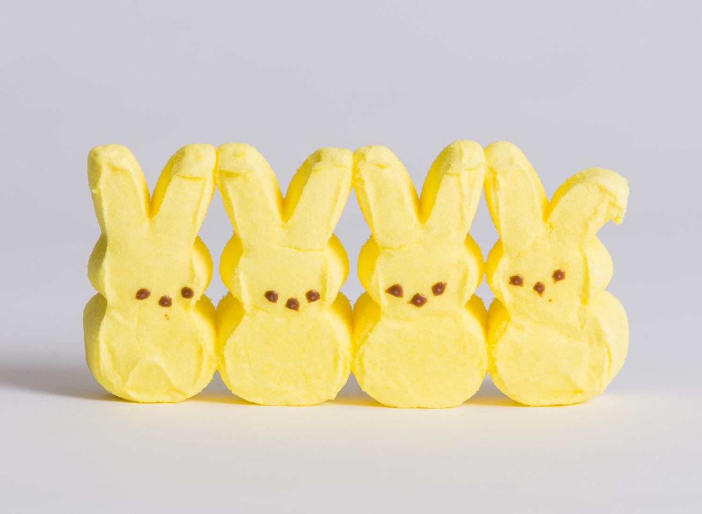 Peeps – Yellow Bunnies