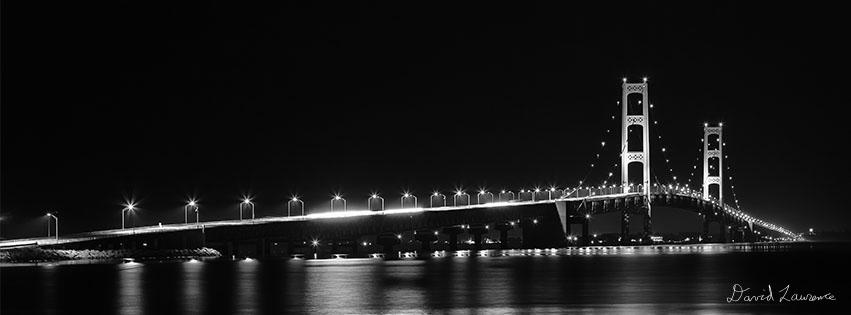 "Mackinac Bridge or some call it the ""Mighty Mac"""