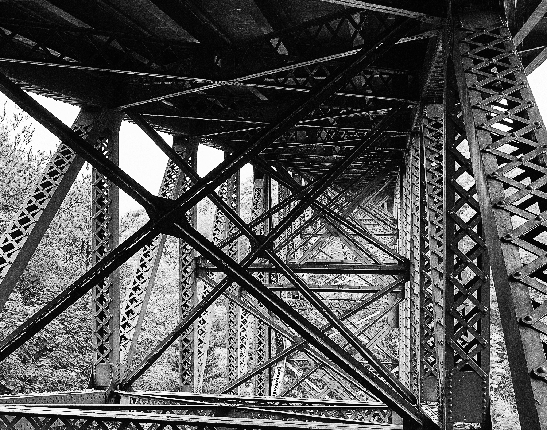 Underside - Cut River Bridge