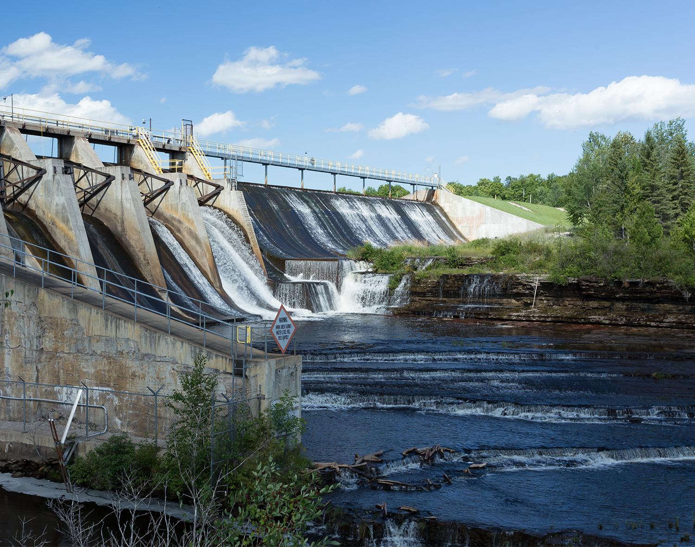 Escanaba River Dam #1 (Boney Falls Dam)