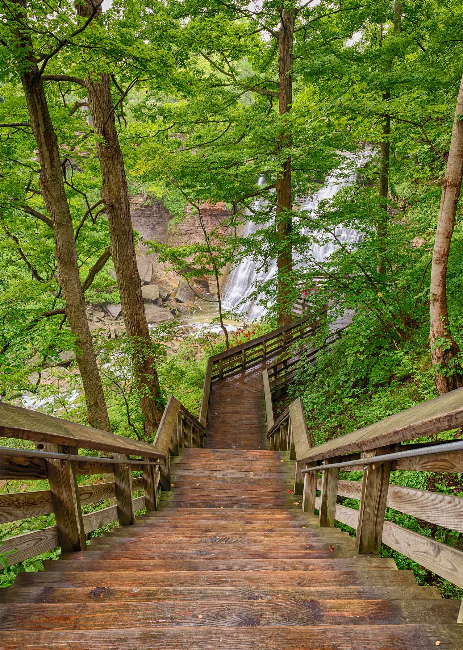 Boardwalk to Brandywine Falls - 2018