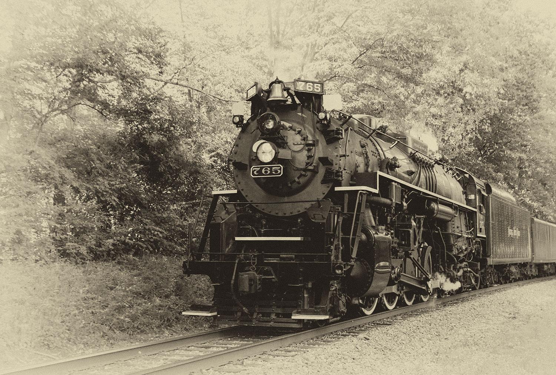 Nickle Plate Road Steam Locomotive No. 765