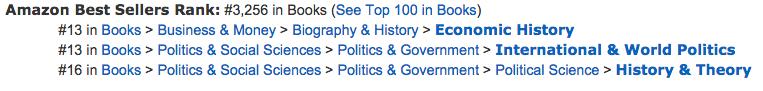 Hardcover ranking