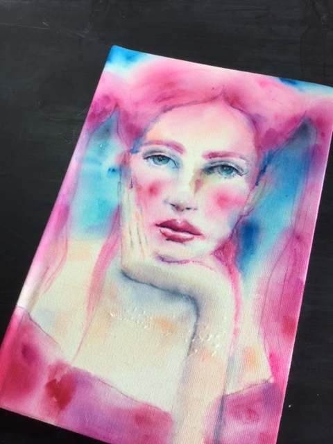 Life Book 2018 - I will teach you about drawing faces and using vibrant watercolors!  I am so excited to create with you!  This is a wonderful opportunity to learn many techniques from dozens of talented artists!  We will have an amazing Life Book filled with gorgeous art at the end of the year!  Come join the fun!