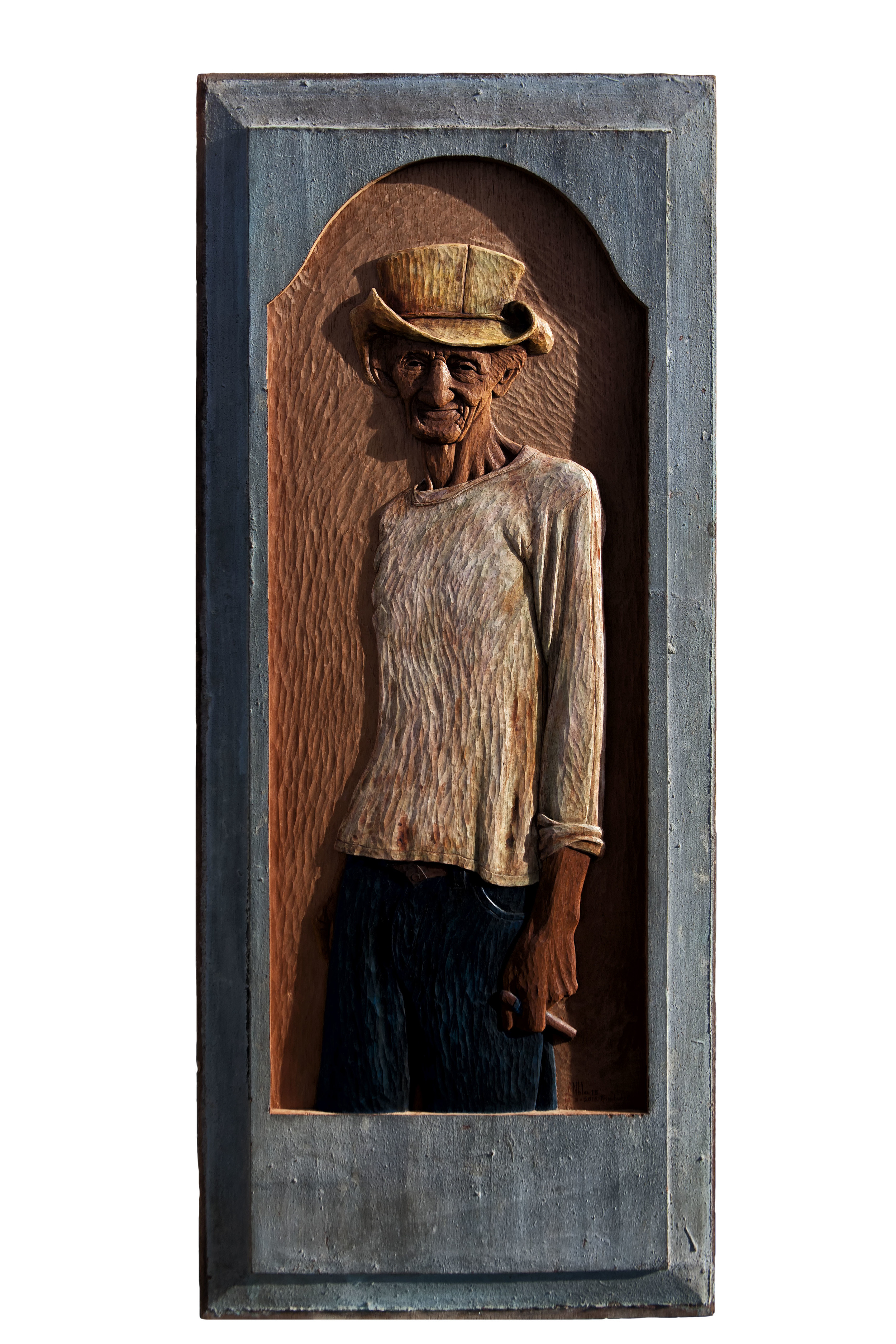 Juan Naranjo Pláceres - $15000 130.5 x 53 cm   2015