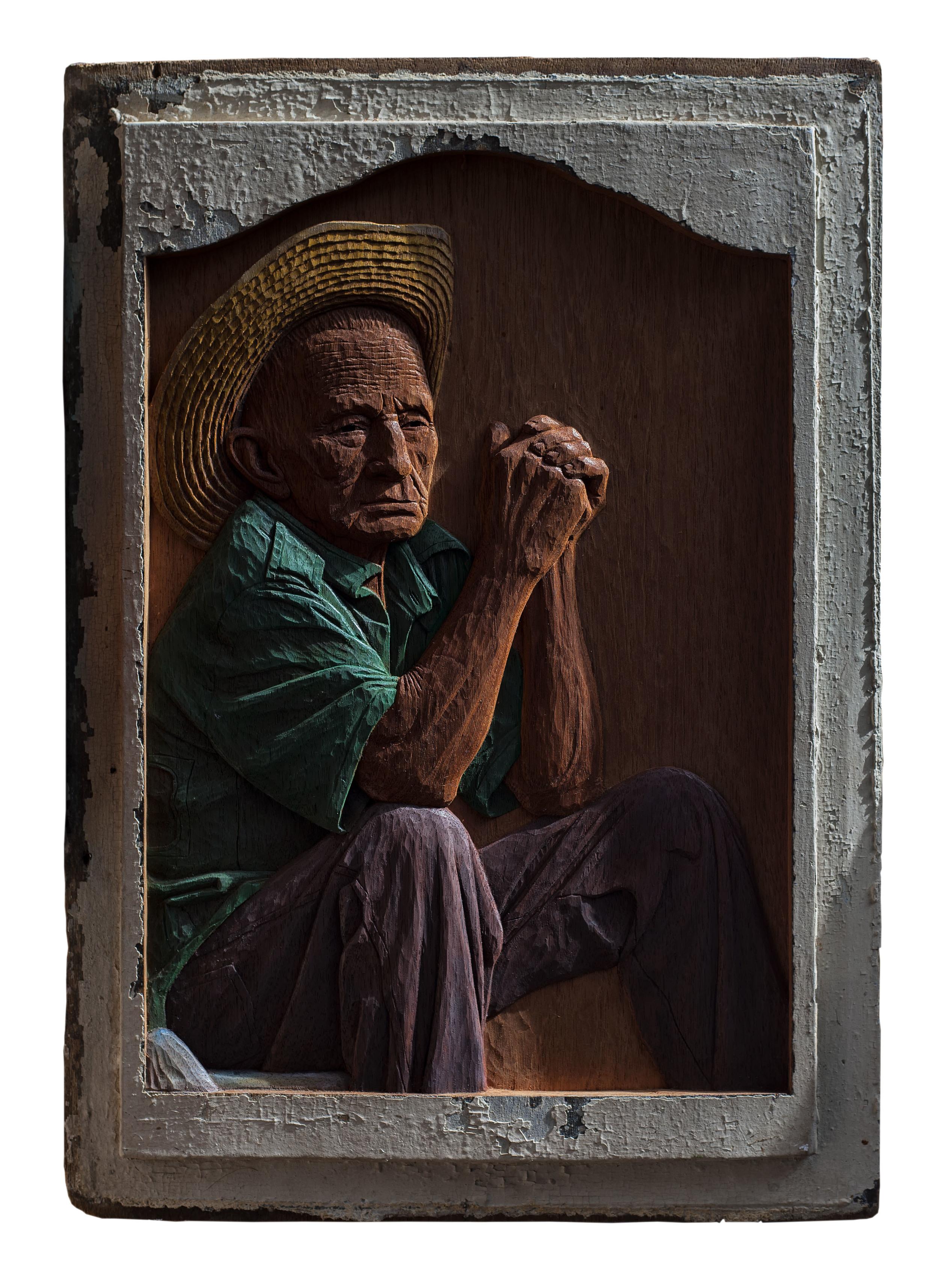 Ramón Bombino Bandomo - $5200   60 x 42 cm 2015