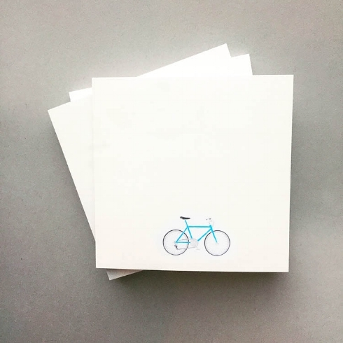 One thing I love to create while I'm busy over at  Jonesy , are sticky notes. These bike ones are a favourite.