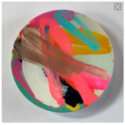 HAPPINESS // Colours that make me happy, like in this platter from  Martinich and Carran